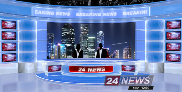 Broadcast Design - Complete News Package - 2