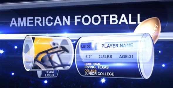 American Football Score